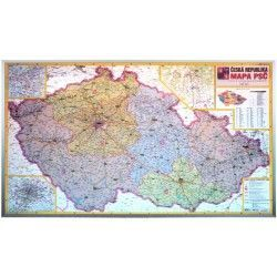 Postcodekaart Tsjechië 1:440.000