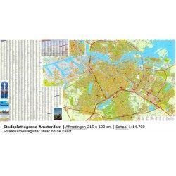 Stadsplattegrond Amsterdam 1:14.700