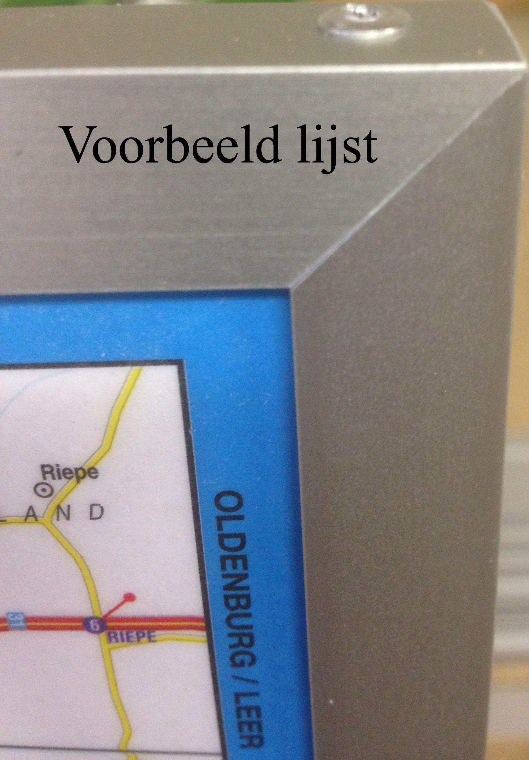 Landkaart Belgie
