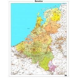 Provinciekaart Benelux