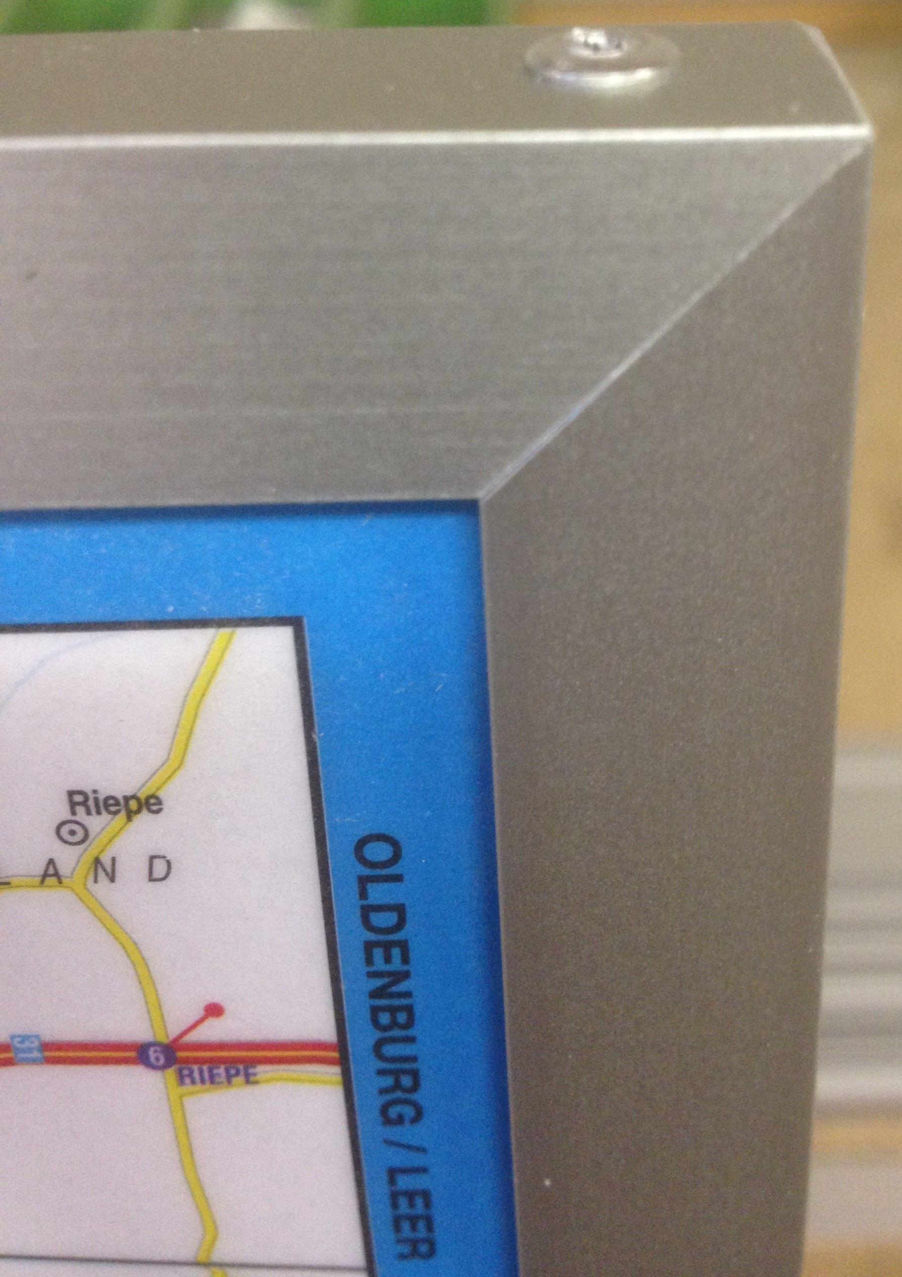 Landkaart Frankrijk 1:1.000.000 met weekplanning met plaatsnamenregister